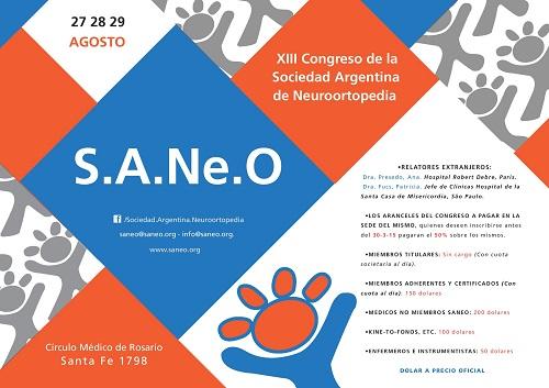 XIII Congreso de la Sociedad Argentina de Neuroortopedia